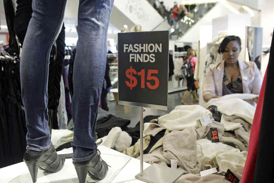 Always Buying Clothing On Sale